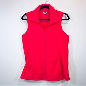 Old Navy Neon Pink Fleece Vest - #1334